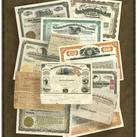 Unknown - Stock Certificate Collection K
