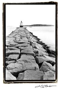 Laura DeNardo - Spring Point Light, Maine II