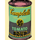 Andy Warhol - Campbell`s Soup Can (Tomato) II
