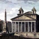 Alessandro Antonelli - View of the Pantheon