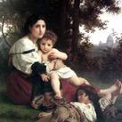 William A. Bouguereau - Mother and Children